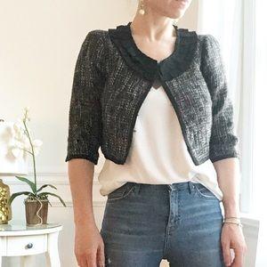 $30 Forever 21 Tweed Black Balero Jacket